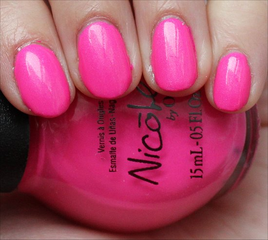 Still Into Pink Nicole by OPI Swatch