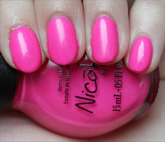 Still Into Pink Nicole by OPI Swatches