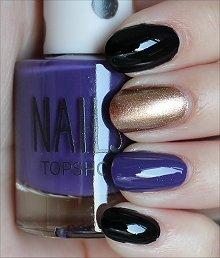 Super Bowl Nails Nail Art Baltimore Ravens