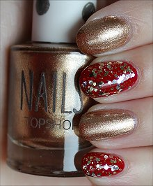 Super Bowl San Francisco 49ers Nails Nail Art