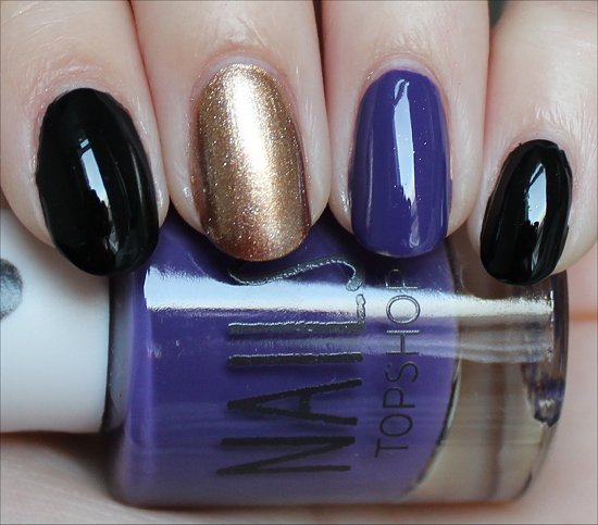 Nail Art Super Bowl Baltimore Ravens Nails Swatch And Learn