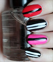 Valentine's Day Nails Nail Art Swatch