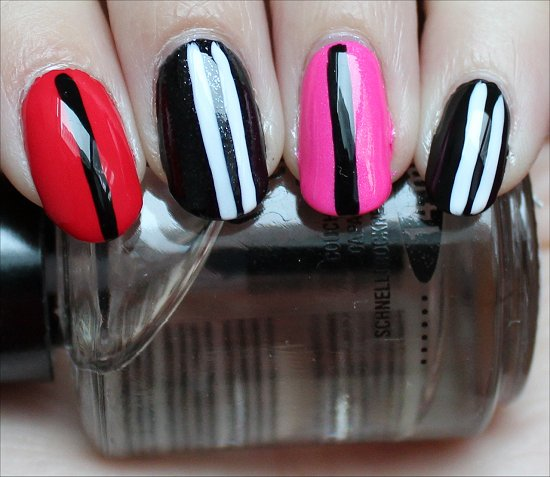Valentine's Day Nails Nail Art Swatches