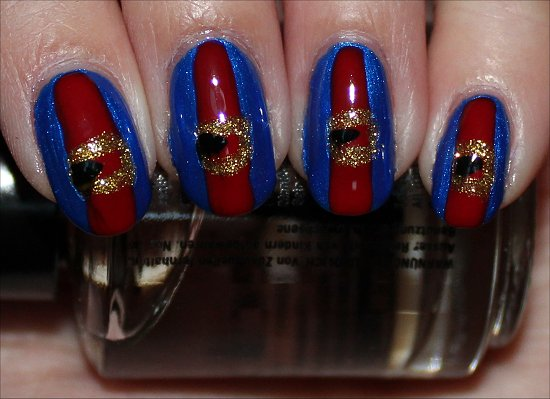 Violet Beauregarde Nail Art