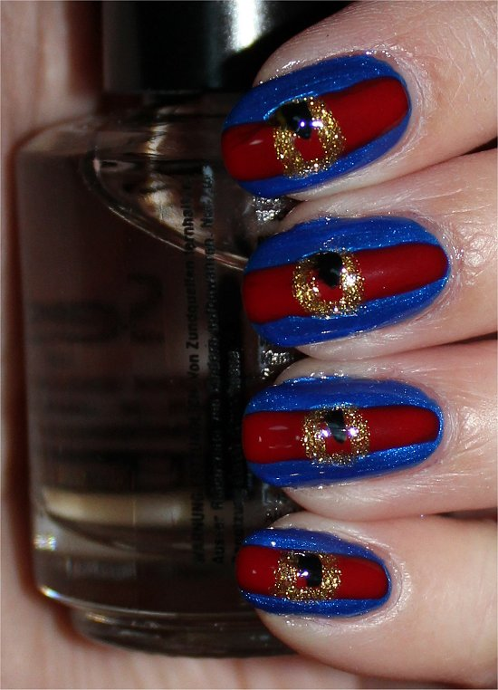 Violet Beauregarde Nails Nail Art Tutorial & Pictures