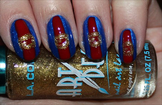 Violet Beauregarde Nails Nail Art Tutorial Step 4