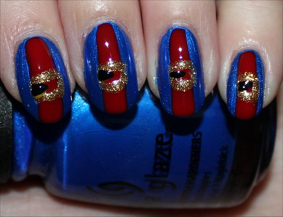 Violet Beauregarde Nails Nail Art Tutorial Step 5