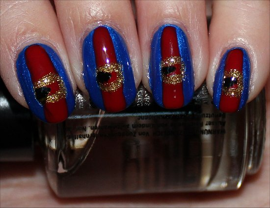 Violet Beauregarde Willy Wonka & the Chocolate Factory Nail Art Tutorial