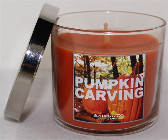 Bath & Body Works Slatkin & Co. Pumpkin Carving Review & Pictures