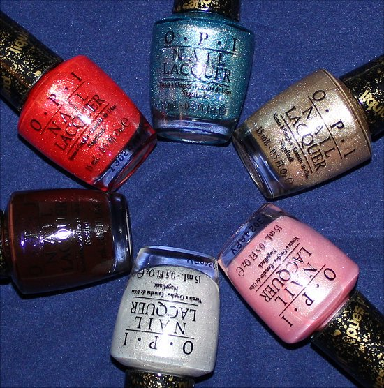 Bond Girls OPI Swatches & Pictures