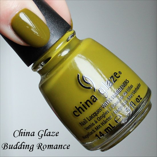 Budding Romance China Glaze Avant Garden Collection