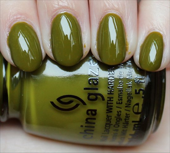 China Glaze Budding Romance Review & Swatches