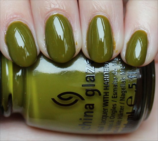 China Glaze Budding Romance Swatch & Review