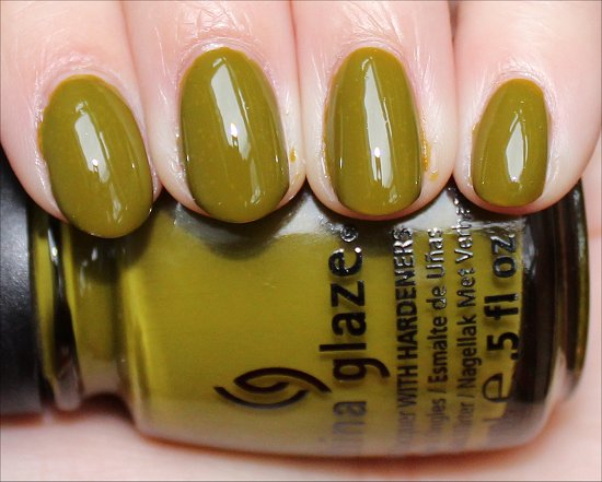 China Glaze Budding Romance Swatches & Pictures