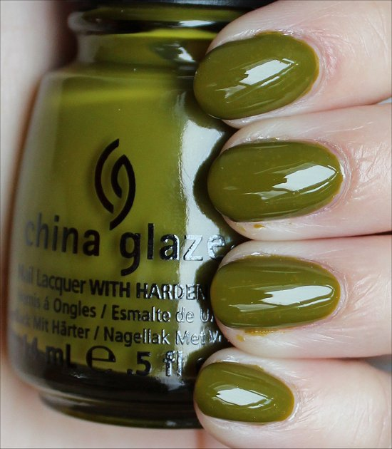 China Glaze Budding Romance Swatches & Review