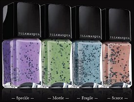 Illamaqua Speckled Nail Polish