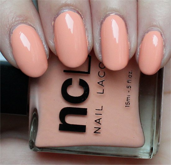NCLA Don't Call Me Peachy Review & Swatch