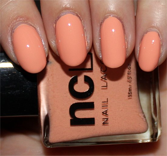 NCLA Don't Call Me Peachy Swatch & Review