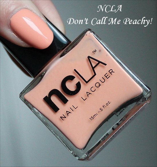 NCLA Don't Call Me Peachy