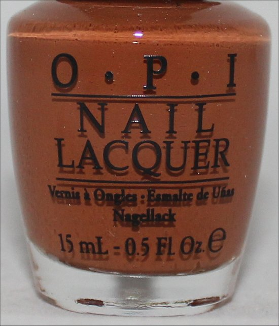 OPI A-Piers to Be Tan Swatch OPI San Francisco Collection Swatches