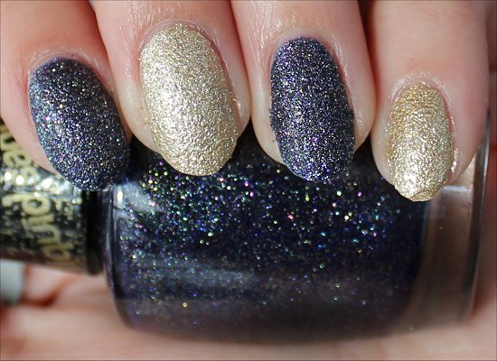 OPI Alcatraz...Rocks Swatch & OPI Honey Ryder Swatch
