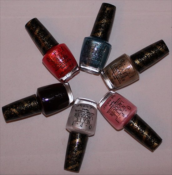 OPI Bond Girls Collection 2013 Photos