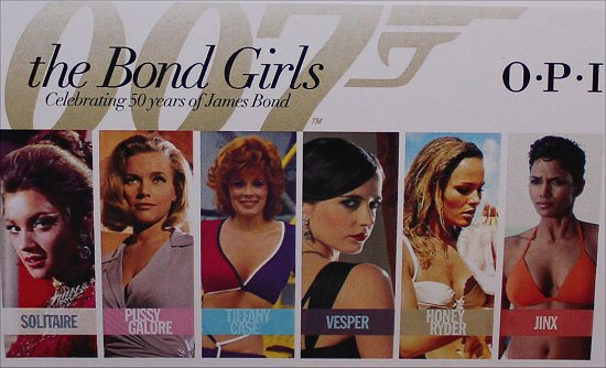 OPI Bond Girls Collection Press Release, Pictures & Swatches