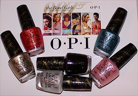 OPI Bond Girls Collection Swatches, Photos & Press Release
