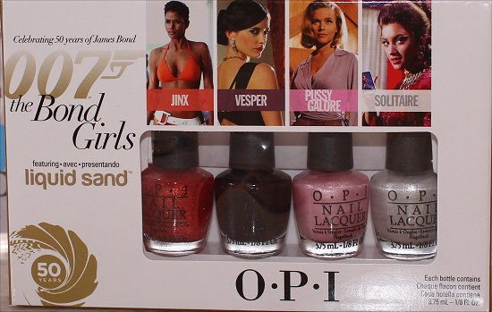 OPI Bond Girls Mini Set