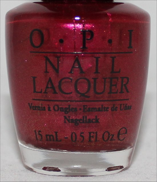 OPI Embarca-Dare Ya Swatch OPI San Francisco Collection Swatches
