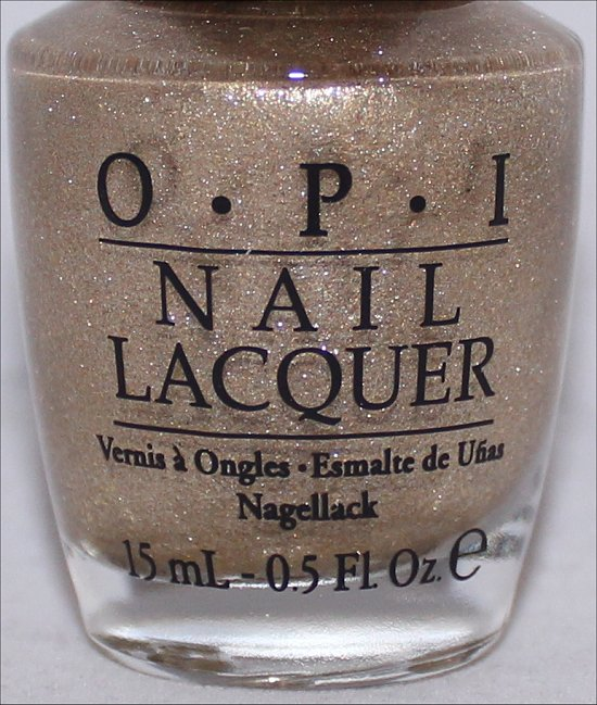 OPI Honey Ryder Swatch OPI Bond Girls Swatches & Press Release