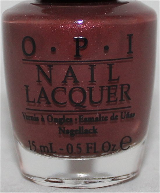 OPI I Knead Sour-Dough Swatch OPI San Francisco Collection Swatches