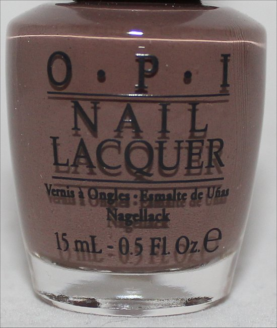 OPI It's All San Andreas's Fault Swatch OPI San Francisco Collection Swatches