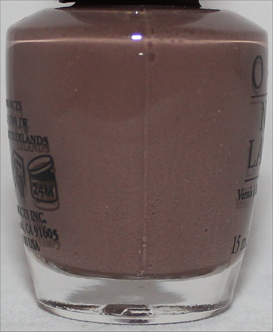 OPI It's All San Andreas's Fault Swatches OPI San Francisco Collection Swatch