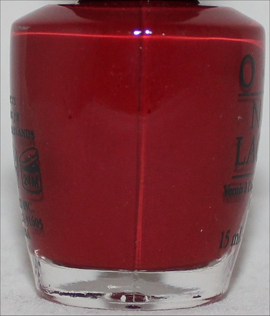 OPI Lost on Lombard Swatches OPI San Francisco Collection Swatch