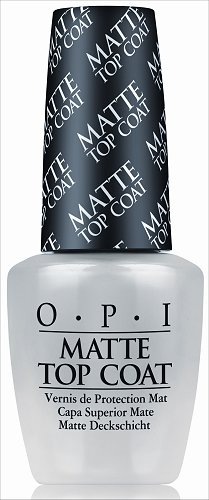 OPI Matte Top Coat Press Release & Promo Picture
