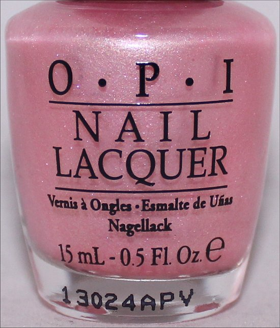 OPI Pussy Galore Swatch OPI Bond Girls Swatches & Press Release