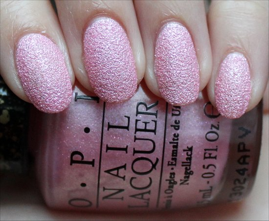 OPI Pussy Galore Swatch & Review