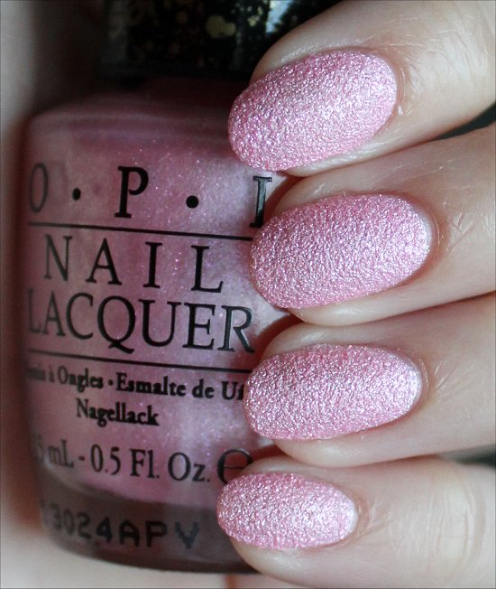 OPI Pussy Galore Swatches & Review