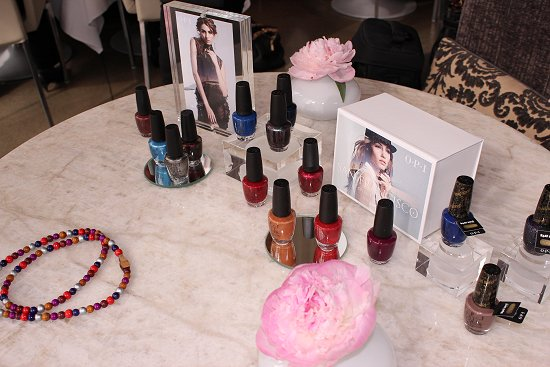 OPI San Francisco Collection Exclusive Product Launch Photo