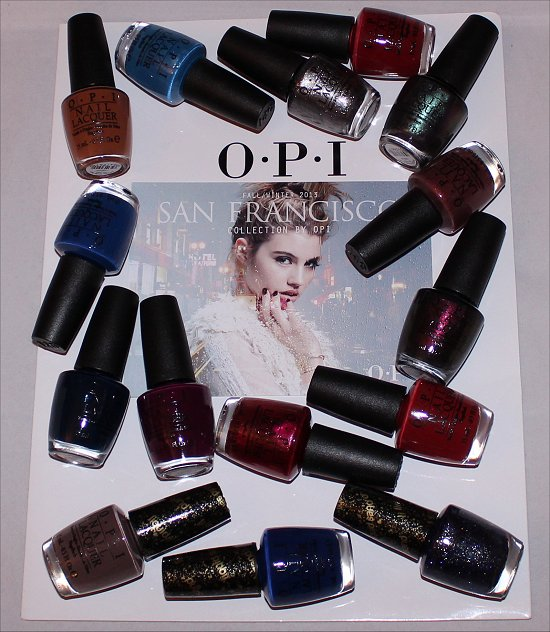 OPI San Francisco Collection Swatches, Pictures & Press Release