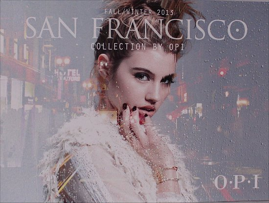 OPI San Francisco Fall Winter 2013 Collection