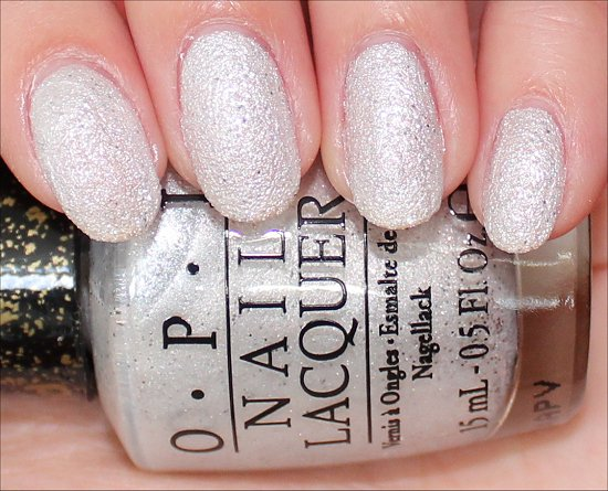 OPI Solitaire Liquid Sand Swatch & Review Bond Girls