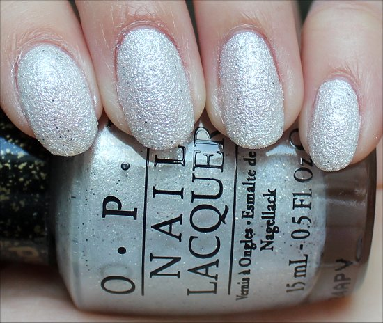 OPI Solitaire Swatch & Photos