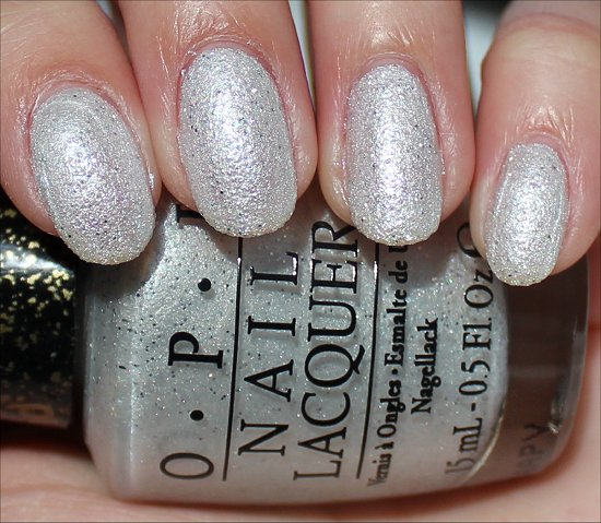 OPI Solitaire Swatch & Review