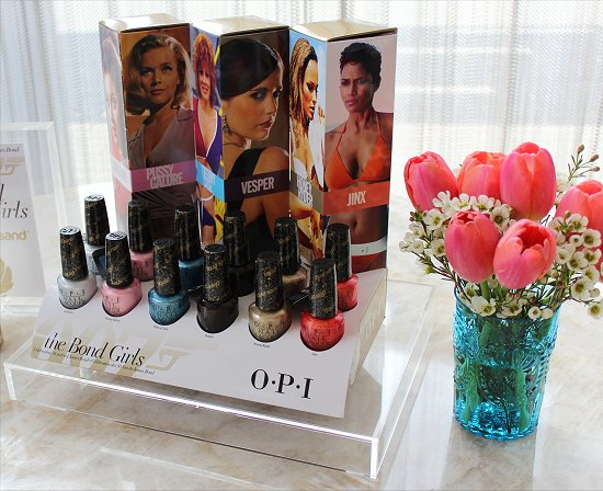 OPI The Bond Girls Collection Exclusive Event Suzi Weiss-Fischmann