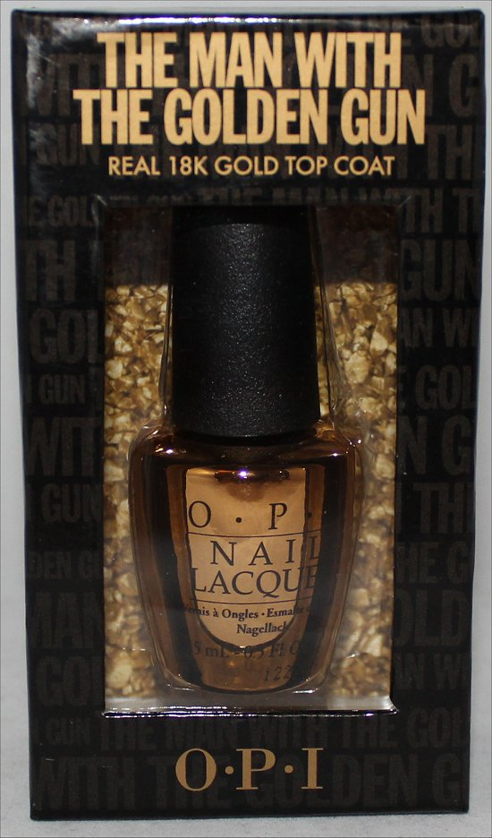 OPI The Man with the Golden Gun Nail Polish Giveaway SwatchAndLearn