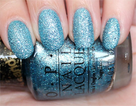 OPI Tiffany Case Swatch & Review