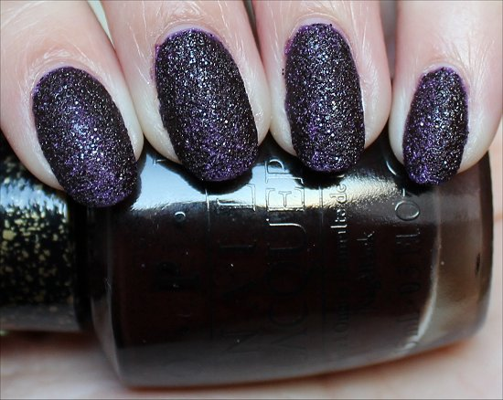 OPI Vesper Bond Girls Swatches