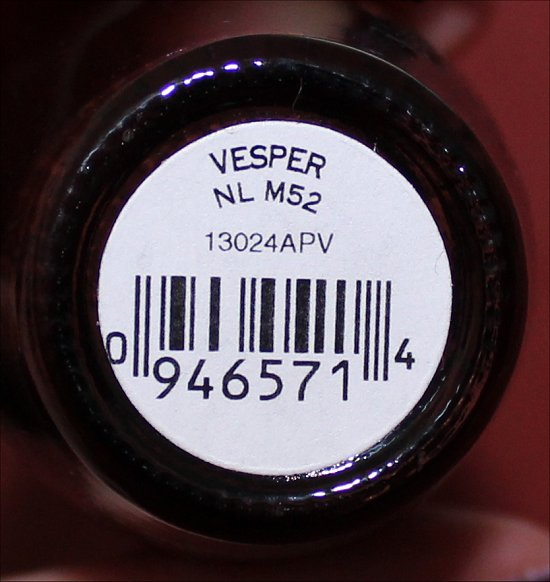 OPI Vesper OPI Bond Girls Collection Swatches